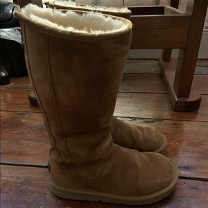 Ugg Knightsbridge chestnut boots